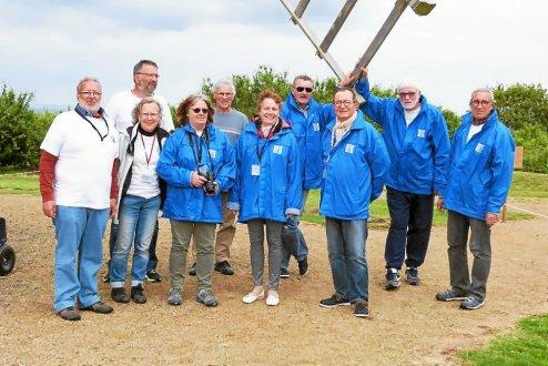 L equipe des amis du moulin de craca